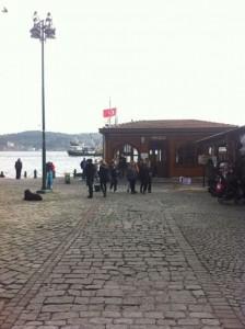 Schiffsanlegestelle in Ortaköy