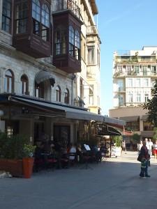 Café am Galata-Turm