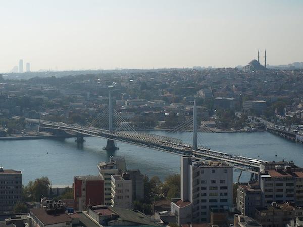 Neue Brücke Goldenes Horn