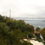 Blick auf die 2. Brücke