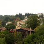 Häuser hinter der Festung