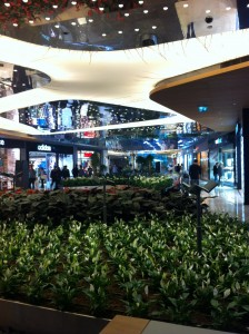 Innenbereich des Zorlu Center