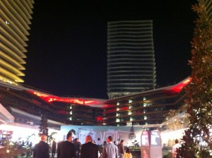 Zorlu Center bei Nacht